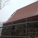 Kościół w Rościnie - pokrycie dachowe