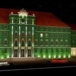 Iluminacja Urzędu Miasta w Szczecinie