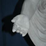 Figura Chrystusa po konserwacji