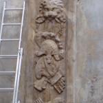 Muzeum Narodowe w Szczecinie - panoplia barokowe w trakcie renowacji
