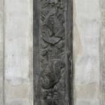 Panoplia barokowe przed renowacją