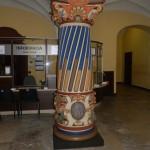 Kolumna w Urzędzie Wojewódzkim po pracach renowacyjnych